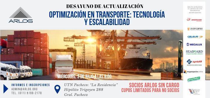 Optimización En Transporte: Tecnología Y Escalabilidad, Temas Del Segundo Desayuno De ARLOG