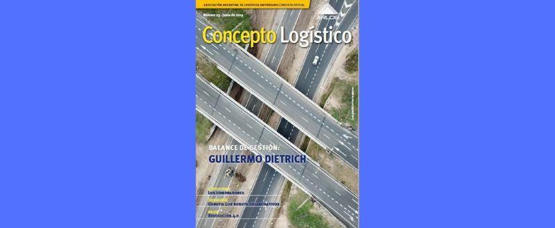 Balance La Gestión Del Ministro De Transporte De La Nación, Guillermo Dietrich, En La Nueva Edición De La Revista De ARLOG