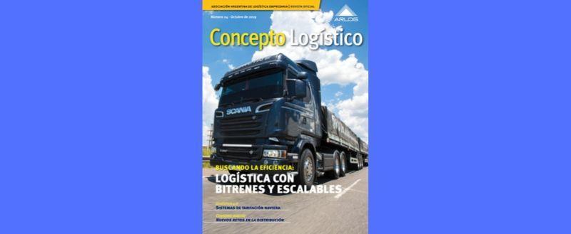 Logística Con Bitrenes Y Escalables, Nota De Tapa De La Nueva Edición De La Revista Concepto Logístico