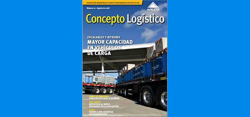 Escalables y bitrenes, temas de la nueva edición de la revista Concepto Logístico